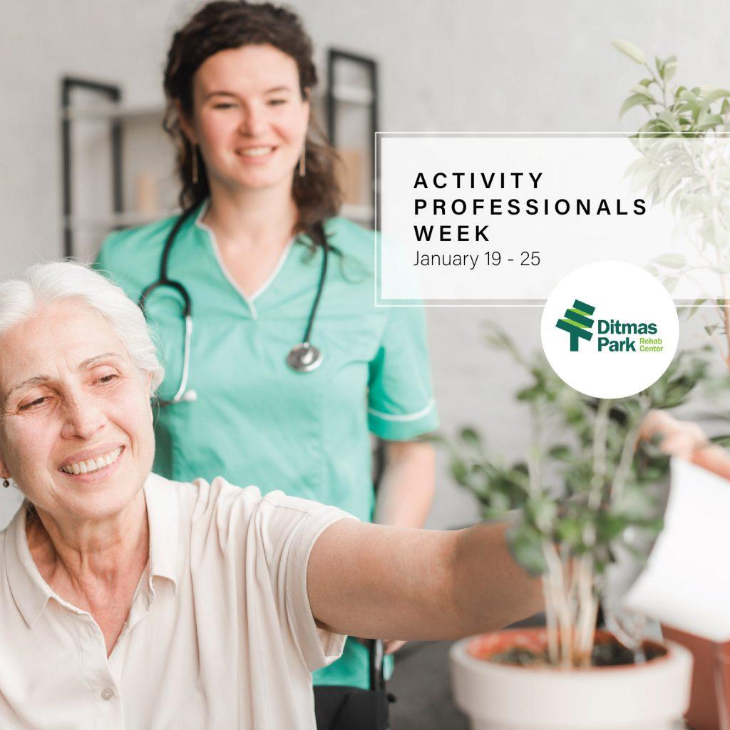 Celebrating Activity Professionals Week